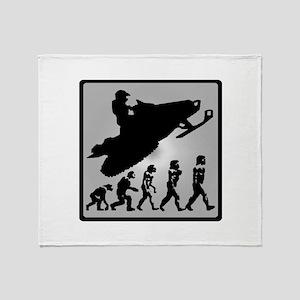 EVOLVE RIDERS Throw Blanket
