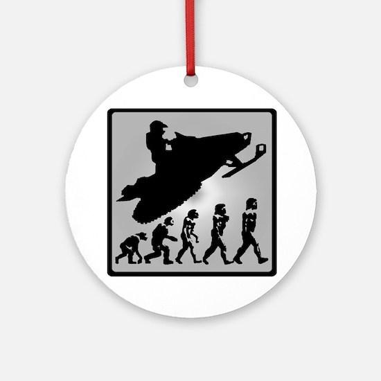 EVOLVE RIDERS Round Ornament