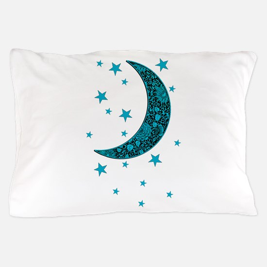 Cute Moon and sun Pillow Case
