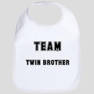 TEAM TWIN BROTHER Bib