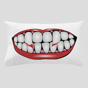 Vampire Evil Grin Pillow Case
