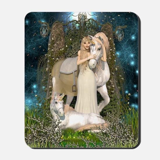 Princess of Unicorns Mousepad