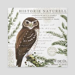 modern vintage French winter woodland owl Queen Du