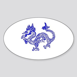 Dragon Blue by designeffects Sticker