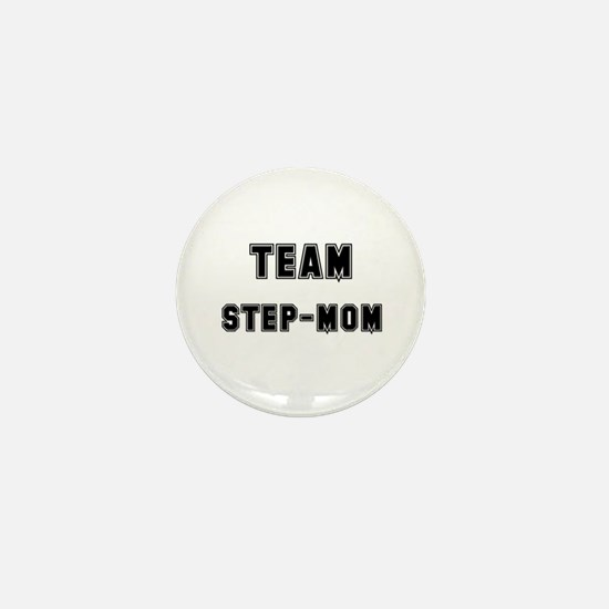 TEAM STEP-MOM Mini Button