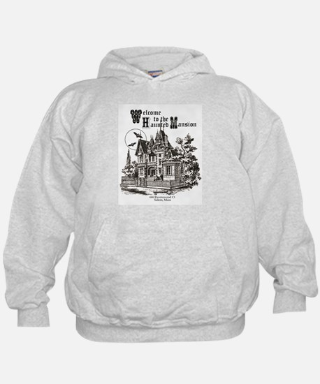 vintage Halloween haunted house Hoodie