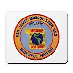 USS JAMES MONROE Mousepad