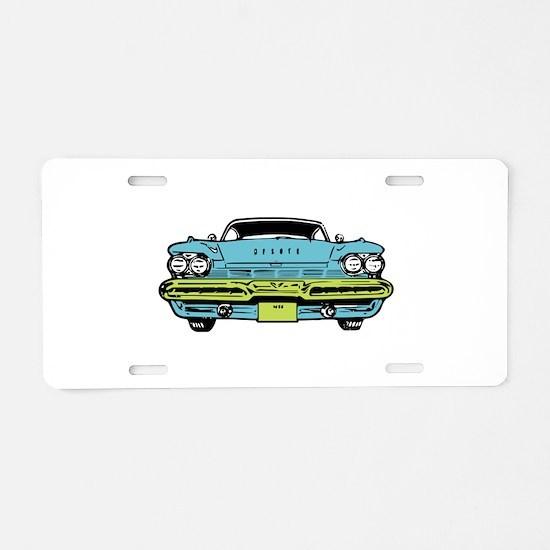 American Classic Aluminum License Plate