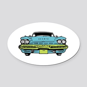 American Classic Oval Car Magnet