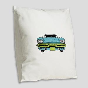 American Classic Burlap Throw Pillow