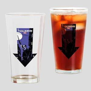 Hawkeye Down Arrow Drinking Glass