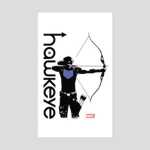 Hawkeye Bow Sticker (Rectangle)