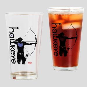 Hawkeye Bow Drinking Glass