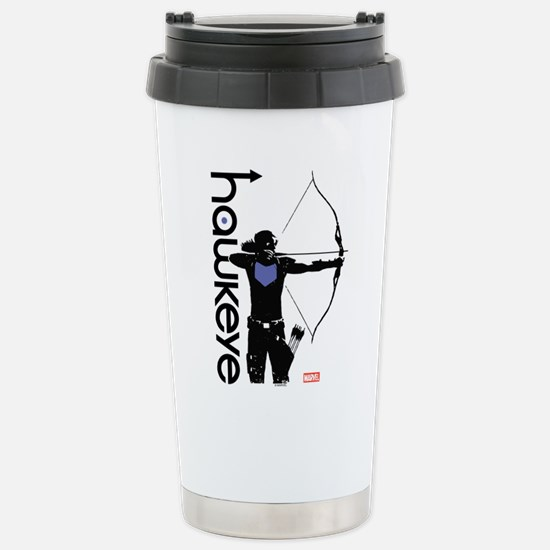 Hawkeye Bow Stainless Steel Travel Mug