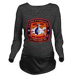 USS MEMPHIS Long Sleeve Maternity T-Shirt