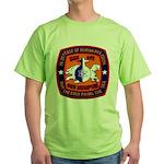 USS MEMPHIS Green T-Shirt