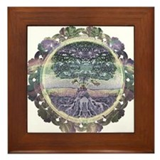 Serentiy and Peace Framed Tile