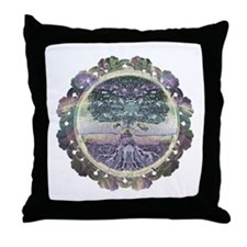 Serentiy and Peace Throw Pillow