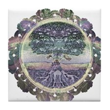 Serentiy and Peace Tile Coaster