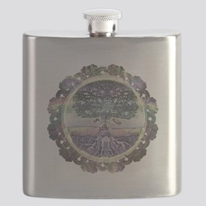 Serentiy and Peace Flask