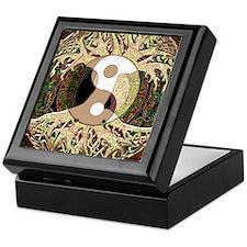 Yin Yang Mandala Keepsake Box