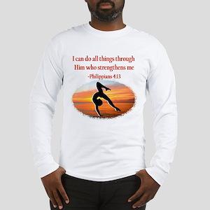 GYMNAST PHILIPPIANS Long Sleeve T-Shirt