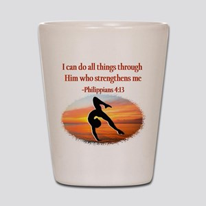GYMNAST PHILIPPIANS Shot Glass