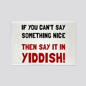 Say It In Yiddish Magnets
