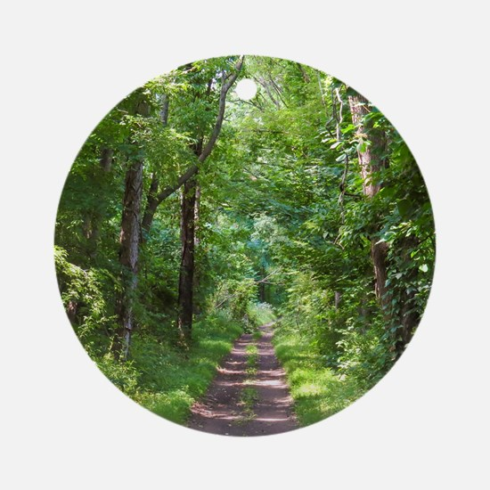 Forest Trail Ornament (Round)