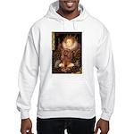 The Queen's Ruby Cavalier Hooded Sweatshirt