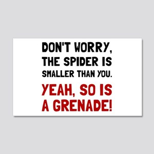 Spider Grenade Wall Decal