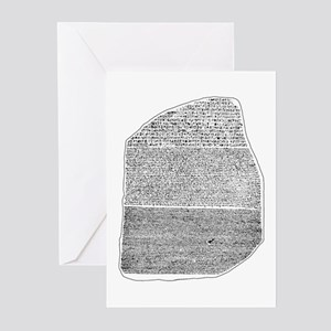 Rosetta Stone Greeting Cards (Pk of 10)