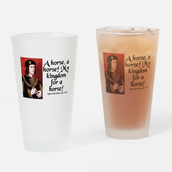 Cute Richard Drinking Glass