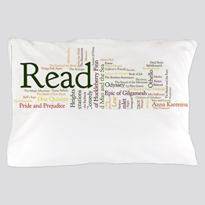 Literature's Best Books Pillow Case
