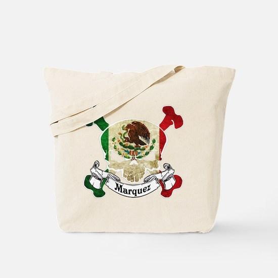 Marquez Skull Tote Bag