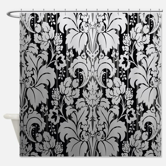 Cute Cool fractal art Shower Curtain