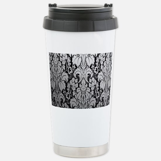 Cute Damask Travel Mug