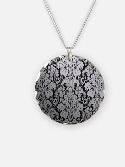 Unique Damask wallpaper Necklace