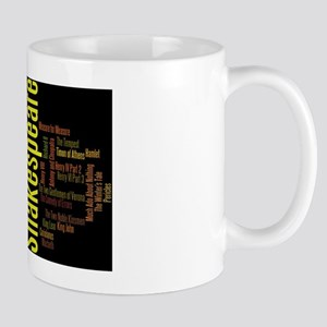 Shakespeare's Plays Mug