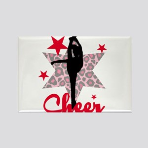 Red Cheerleader Magnets
