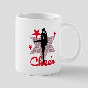 Red Cheerleader Mugs
