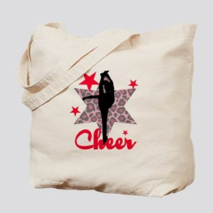 Red Cheerleader Tote Bag