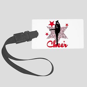 Red Cheerleader Luggage Tag