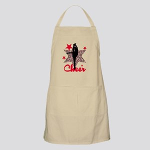 Red Cheerleader Apron