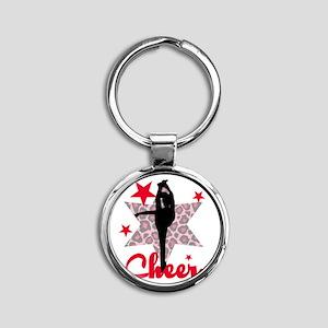 Red Cheerleader Keychains