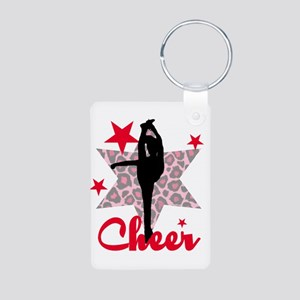 Red Cheerleader Keychains