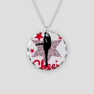 Red Cheerleader Necklace