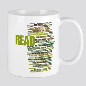 READ! The 100 Best Books of Literature Mugs