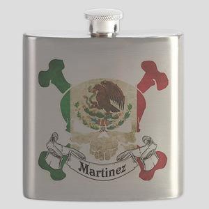 Martinez Skull Flask