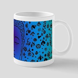 Buddha Blue by designeffects Mugs